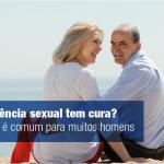 Impotência sexual tem cura