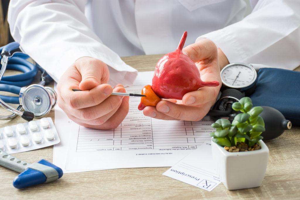 aumento benigno da próstata