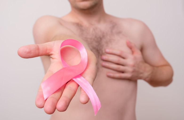 câncer de mama atinge homens