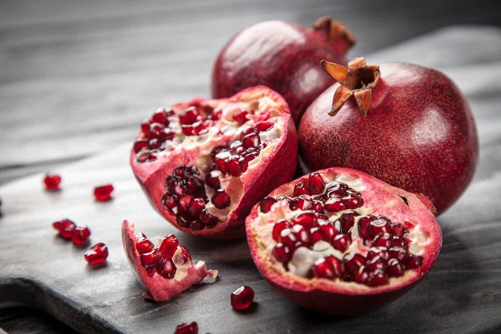 frutas afrodisíacas - romã
