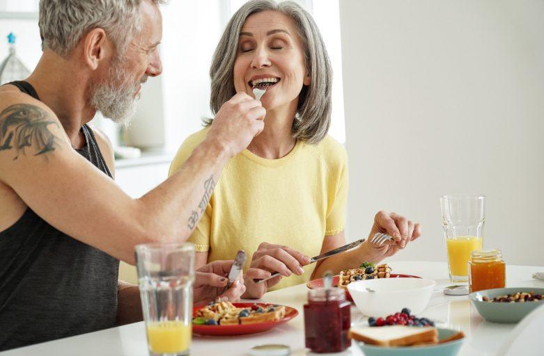 alimentação saudável e sexo